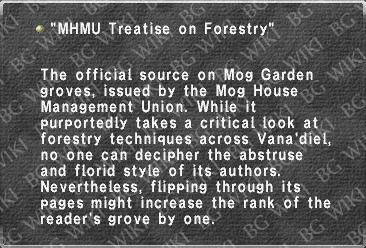 """MHMU Treatise on Forestry"""