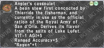 Angler's Cassoulet description.png