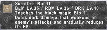 Bio II (Scroll) description.png