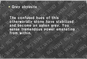 Grey abyssite
