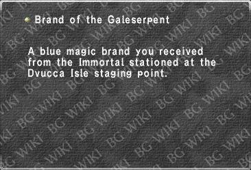 Brand of the Galeserpent