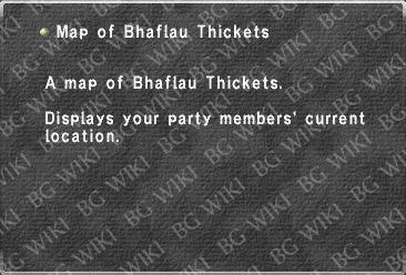 Map of Bhaflau Thickets - BG FFXI Wiki
