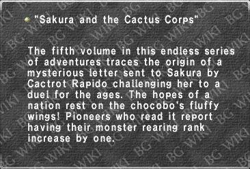 """Sakura and the Cactus Corps"""