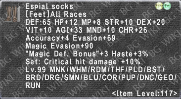 Espial Socks description.png