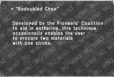 """Redoubled Chop"""