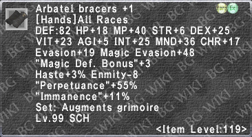 Arbatel Bracers +1 description.png