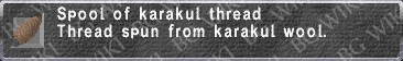 Karakul Thread description.png