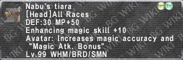 Nabu's Tiara description.png
