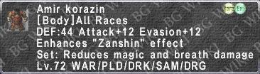 Amir Korazin description.png