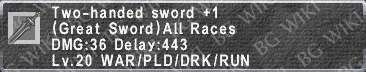 2-Hand. Sword +1 description.png