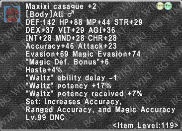 Maxixi Casaque +2 description.png