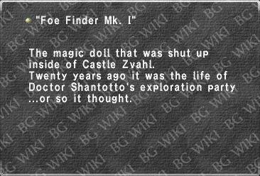 """Foe Finder Mk. I"""