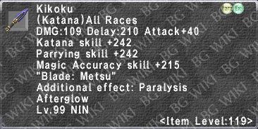 Kikoku (Level 119 II) description.png