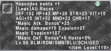 Hagondes Pants +1 description.png