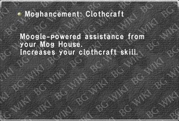 Moghancement: Clothcraft