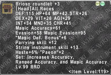 Brioso Roundlet +3 description.png