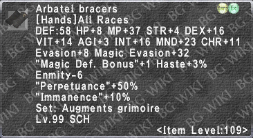 Arbatel Bracers description.png