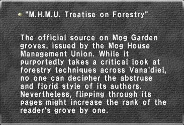 """M.H.M.U. Treatise on Forestry"""