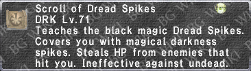 Dread Spikes (Scroll) description.png