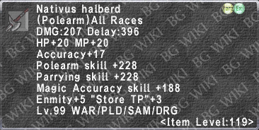 Nativus Halberd description.png
