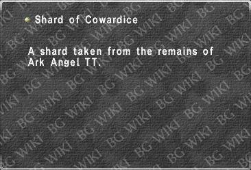 Shard of Cowardice