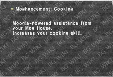 Moghancement: Cooking