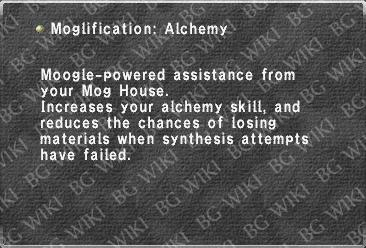 Moglification: Alchemy