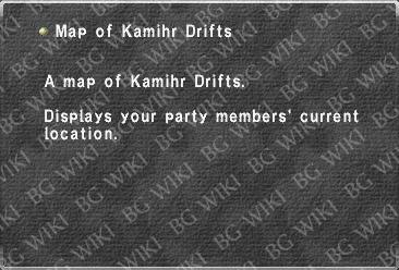 Map of Kamihr Drifts