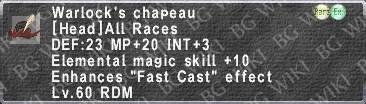 Warlock's Chapeau description.png