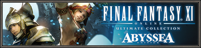 Announcing the FINAL FANTASY XI ULTIMATE COLLECTION ABYSSEA EDITION! (04/27/2011)
