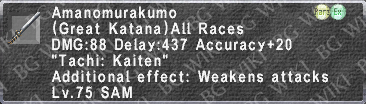 Amanomurakumo (Level 75) description.png