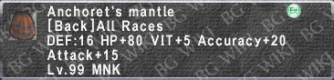 Anchoret's Mantle description.png