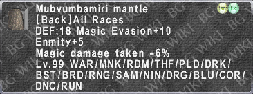 Mubvum. Mantle description.png