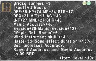 Brioso Slippers +3 description.png