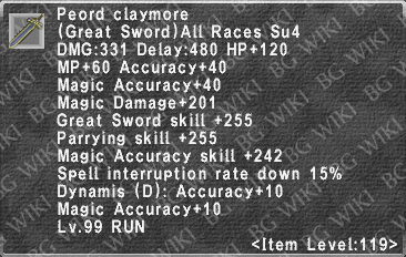 Peord Claymore description.png
