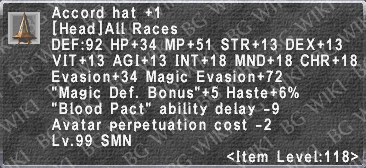 Accord Hat +1 description.png