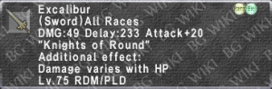 Excalibur (Level 75) description.png