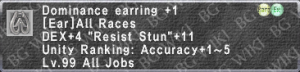 Domin. Earring +1 description.png